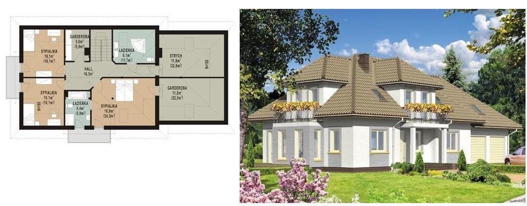 Projekt domu WB-0083