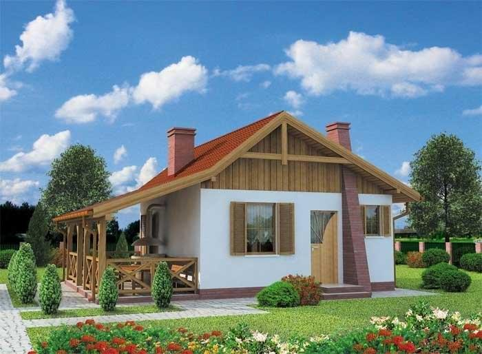 Projekt domu TULUZA dom letniskowy