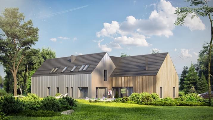 Projekt domu House x09